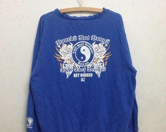 Vintage 90's T & C Surf Design Sweatshirts Size XL