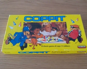 COMPLETE: Vintage Retro Coppit Board Game by Spears 1989 VGC