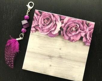 Rose Sticky Note Pad (limited)