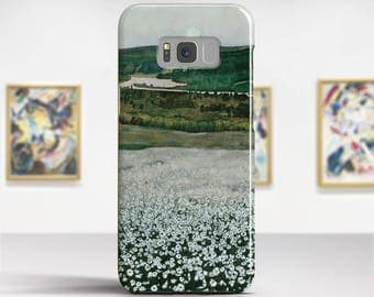 """Harald Sohlberg, """"Flower Meadow in the North"""". Samsung Galaxy S8 Plus Case LG V30 case Google Pixel Case Galaxy A5 2017 Case."""