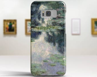 """Claude Monet, """"Pond with Water Lilies"""". Samsung Galaxy S7 Case LG G6 case Huawei P10 Case Galaxy J5 2017 Case and more. Art phone cases."""