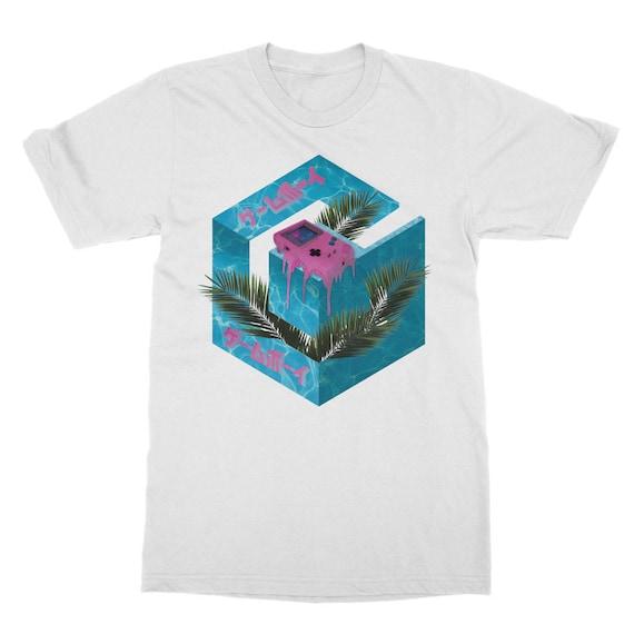 シ Vaporwave Aesthetic Original Deep Thought Unisex Double Sided Sublimation Printed T-Shirt シ hwYk4