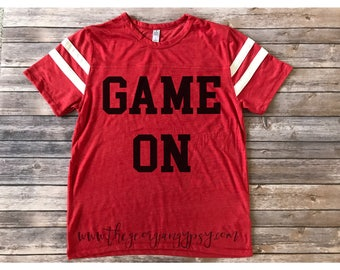 Game On jersey   Game Day jersey   Game On shirt   Cute Game Day shirt   Football shirt   baseball shirt   Game On