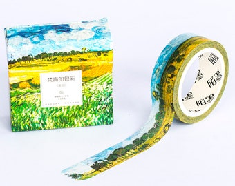Washi Tape - Van Gogh Painting - Plain Near Auvers