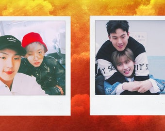 MONSTA X Group Polaroids