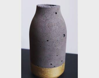 beton vase concrete stone
