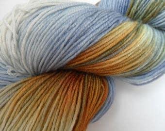 """100gms Handpainted 4ply BFL/Nylon Yarn """"Prospero"""""""