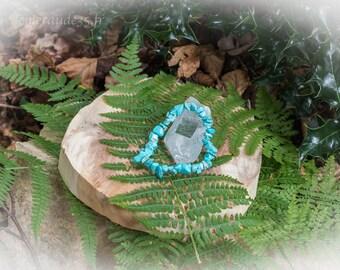 Blue Turquoise Chips bracelet