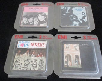 Collection of Four Beatles Mini CDs EMI Records Parlaphone 1989