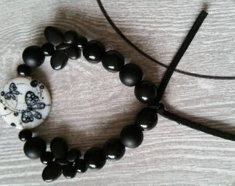 Black Butterfly bracelet