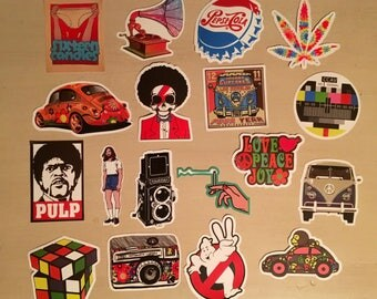 Old School Stickers