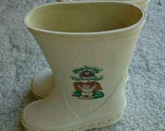 Cabbage Patch Kids Rain Boots Size 7