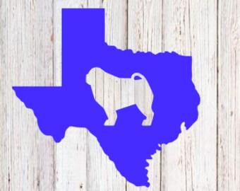 Decal | Texas Pug