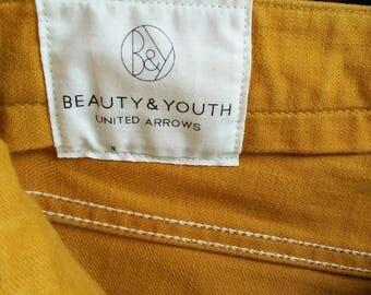 United arrow beauty and youth khakis nice colour