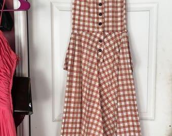 SALE Picnic Table Dress