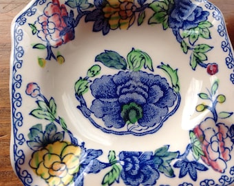 Pair of Masons 1920s Regency Ironstone Ashtrays