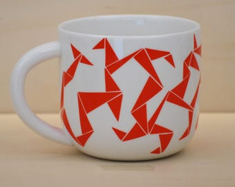 Breakfast Bowl red geometry model