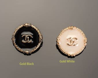 Custom Handwork Buttons Metal Luxury OverCoat Sewing DIY (15mm-25mm)- c2
