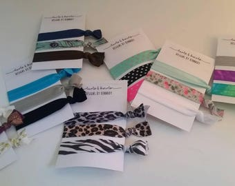 No Crease Elastic Hair Ties / Multiple Styles Available