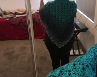 Crochet viral shawl