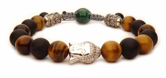 The Tiger eye Buddha bracelet
