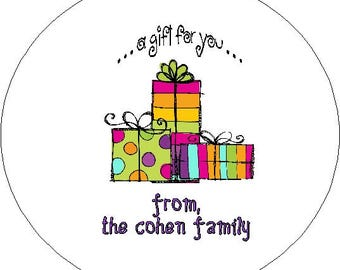 Personalized Gift Sticker