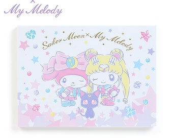 Sailor Moon x My Melody Memo KAWAII SANRIO from Japan