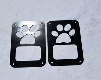 Jeep JK Tail Light Dog Paw