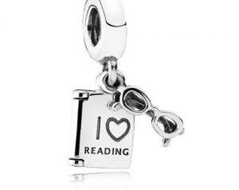 Pandora Love Reading Charm