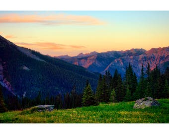 Silver Basin Sunset - Colorado landscape photography by Harry Durgin