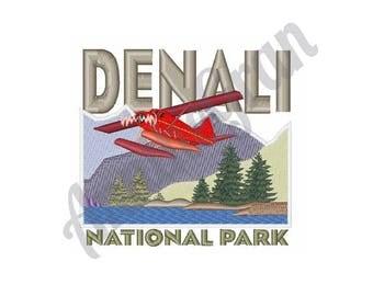 Denali National Park - Machine Embroidery Design