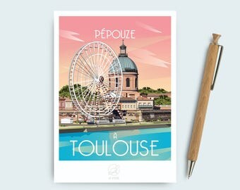 Postcard Toulouse