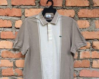 Vintage Lacoste polo Shirt/Lacoste Jacket/Lacoste Sweetshirt
