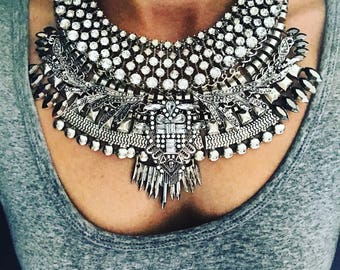 ZAHLI - luxe statment necklace