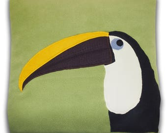 Colorful Toucan Decorative Cushion Cover
