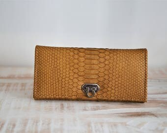 snakeskin wallet, python wallet, snakeskin purse, python purse, wallet, purse