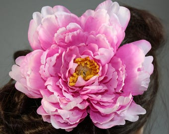 "Vintage inspired rockabilly hair flower/Hairflower ""Miley II"""