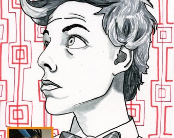 Custom Ink Portrait