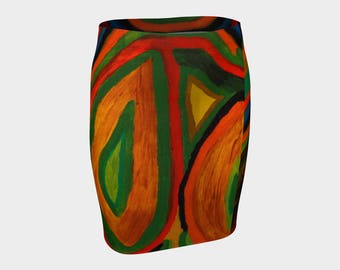 This fitted skirt is wild wild wild. Be cool. Look your best. Order now!