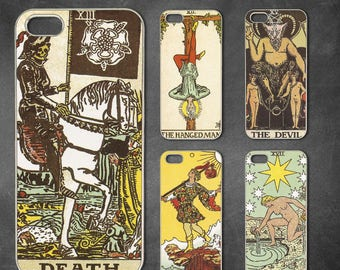 22 kinds Tarot card iphone 7 case, iphone 7 plus case, iphone 6/6s , iphone 8 case, iphone 6 plus case, iphone x, 5/5s case, 5c case, 4/4s