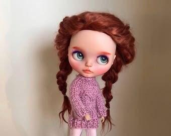 Blythe wool sweater (rose)