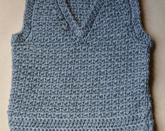 Boy's V-Neck Sweater