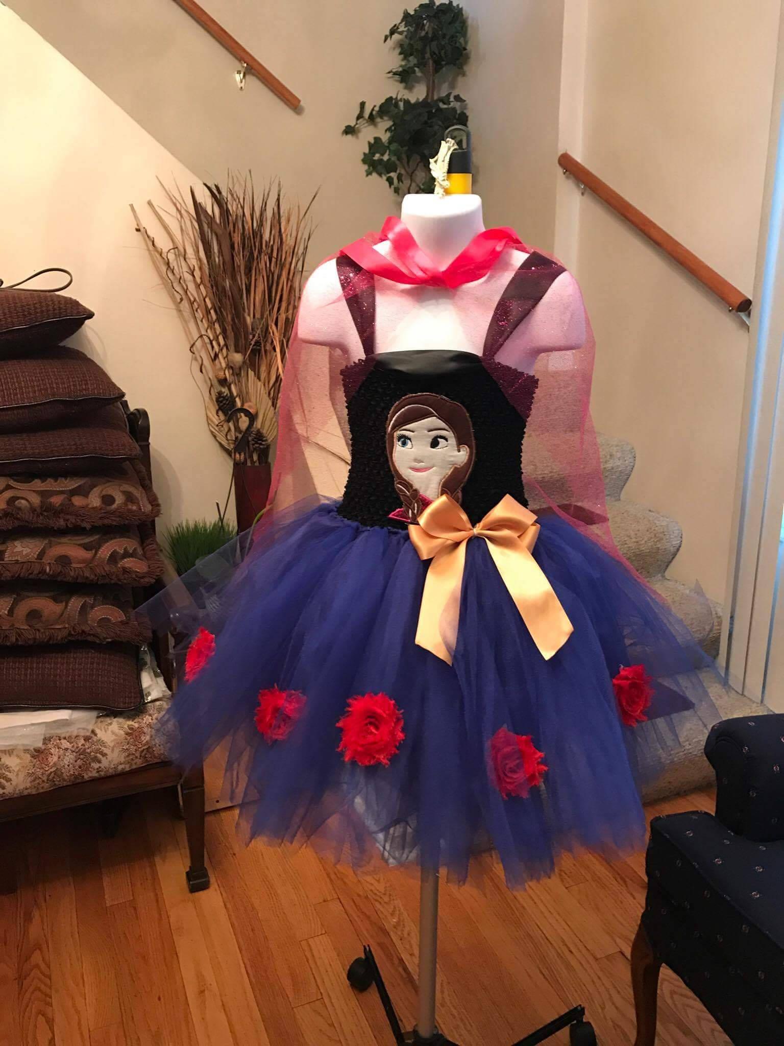Anna Tutu Dress Princess Frozen