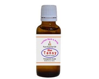 Blue Tansy Essential Oil Therapeutic Grade Free Shipping