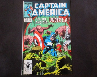 Captain America #329 Marvel Comics 1987