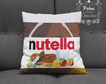 Sale !! - Nutella - Nutella Pillow - Nutella pillow case - Chocolate - choco - candy - Free Shipping