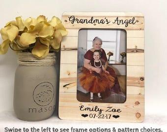 Grandma frame, personalized grandma, personalized frame, personalized gift, best grandma, personalized gift, pregnancy announcement