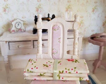 Dollhouse habedashery,Miniatures for dollhouse,12th Scale,sewing room,miniature material,room box,habedashery,half scale sewing room