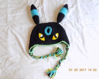 Shiny Umbreon Crochet Hat