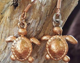 Turtles Copper Finish